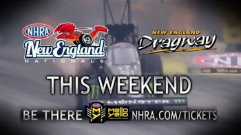 NHRA TV Spot, 'New England Nationals: 4th of July Weekend'
