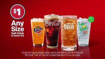 McDonald's $1 Soft Drink TV Spot, 'Hit Refresh on Summer' - Thumbnail 6