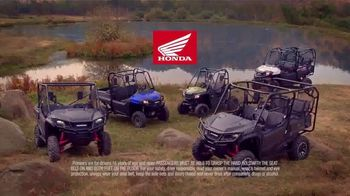 Honda Pioneer 1000 Limited Edition TV Spot, 'Better to Be Both' - Thumbnail 8