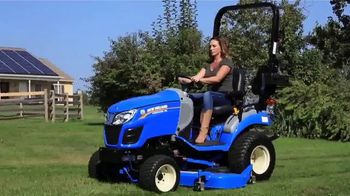 New Holland Workmaster 25S TV Spot, 'Big Impact'