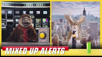 Lunchables TV Spot, 'Mixed Up Alerts: Clear Skies'