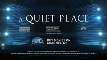 DIRECTV Cinema TV Spot, 'A Quiet Place' - Thumbnail 9