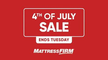 Mattress Firm 4th of July Sale TV Spot, 'All Beds on Sale' - Thumbnail 1