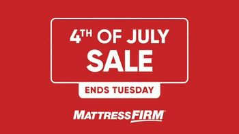 Mattress Firm 4th of July Sale TV Spot, 'All Beds on Sale'
