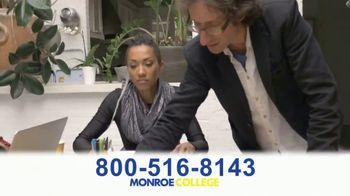 Monroe College TV Spot, 'Right Into a Career' - Thumbnail 2