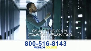 Monroe College TV Spot, 'Right Into a Career' - Thumbnail 4