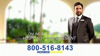 Monroe College TV Spot, 'Right Into a Career' - Thumbnail 5