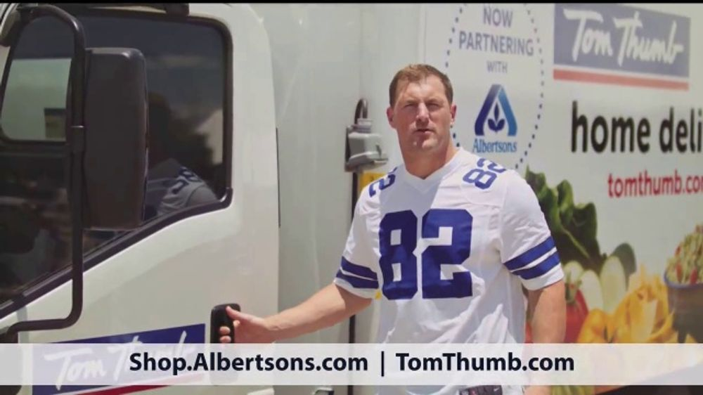 Albertsons TV Commercial, 'Fast and Easy' Featuring Jason Witten