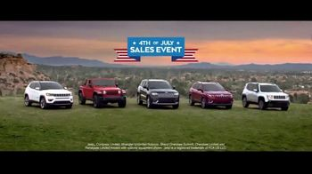 Jeep 4th of July Sales Event TV Spot, 'Great Deals' Song by The Score [T2] - Thumbnail 5