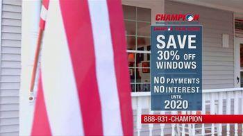 Champion Windows TV Spot, 'Christina: Fabulous' - Thumbnail 7