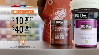 The Home Depot Red, White & Blue Savings TV Spot, 'Weather It All' - Thumbnail 10