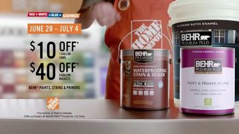 The Home Depot Red, White & Blue Savings TV Spot, 'Weather It All' - Thumbnail 9