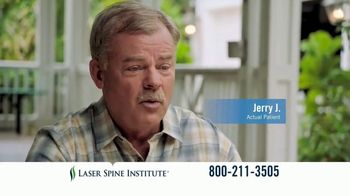 Laser Spine Institute TV Spot, 'Jerry is Back to Living a Pain-Free Life' - Thumbnail 9