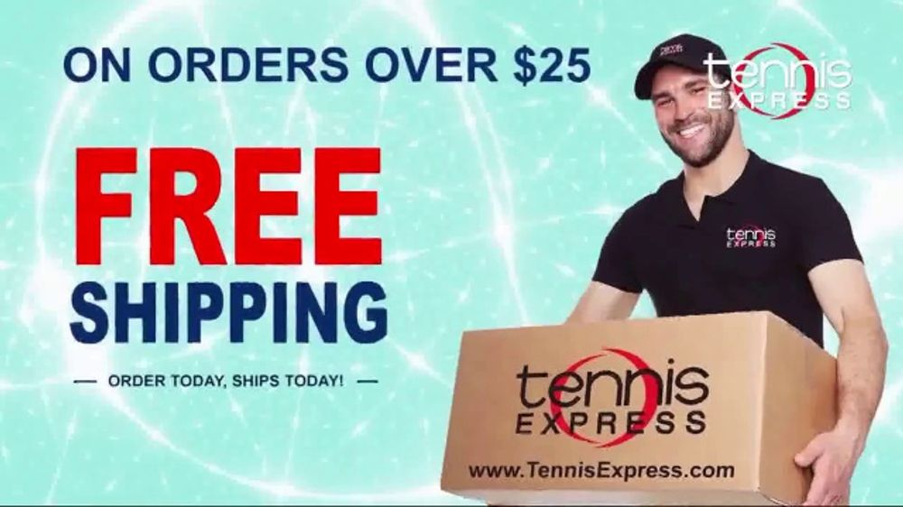 Tennis Express TV Commercial, 'Largest Selection of Shoes & Exclusive Tees'