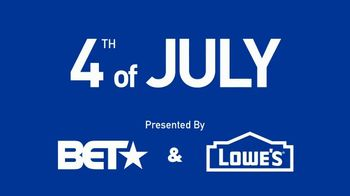 Lowe's TV Spot, 'BET: 4th of July Flair' - Thumbnail 2