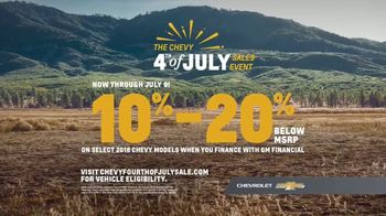 Chevrolet 4th of July Sales Event TV Spot, 'For the First Time' - Thumbnail 5