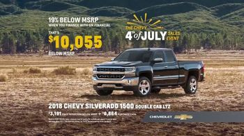 Chevrolet 4th of July Sales Event TV Spot, 'For the First Time' - Thumbnail 6