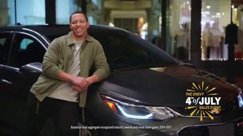 Chevrolet 4th of July Sales Event TV Spot, 'For the First Time' - Thumbnail 8