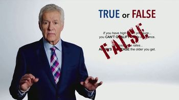 Colonial Penn TV Spot, 'True or False' Featuring Alex Trebek - 120 commercial airings