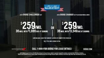 Dodge 4th of July Sales Event TV Spot, 'Closed Courses' [T2] - Thumbnail 9