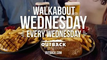Outback Steakhouse Walkabout Wednesday TV Spot, 'For Steak and Beer' - Thumbnail 10