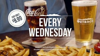 Outback Steakhouse Walkabout Wednesday TV Spot, 'For Steak and Beer' - Thumbnail 8