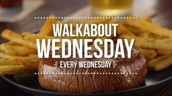 Outback Steakhouse Walkabout Wednesday TV Spot, 'For Steak and Beer' - Thumbnail 9