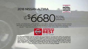 Nissan America's Best Sales Event TV Spot, 'Full Lineup' [T2] - Thumbnail 8