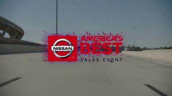 Nissan America's Best Sales Event TV Spot, 'Full Lineup' [T2] - Thumbnail 3