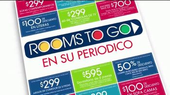 Rooms to Go TV Spot, 'Cupones de ahorro' [Spanish] - Thumbnail 2