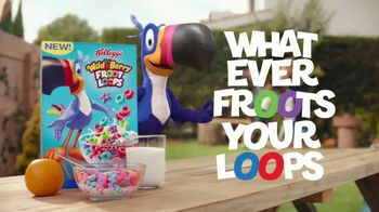 Wild Berry Froot Loops TV Spot, 'Berry-licious Surprise' - Thumbnail 9