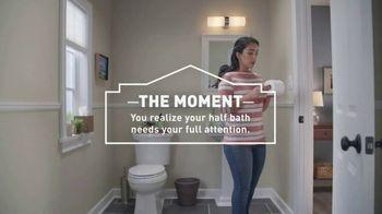 Lowe's 4th of July Savings TV Spot, 'Half Bath, Full Attention' - Thumbnail 4