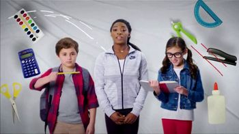 Mattress Firm Foster Kids TV Spot, 'School Supply Drive' Feat. Simone Biles - 86 commercial airings