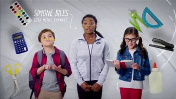Mattress Firm Foster Kids TV Spot, 'School Supply Drive' Feat. Simone Biles - Thumbnail 7