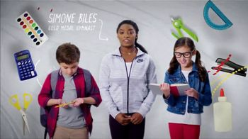 Mattress Firm Foster Kids TV Spot, 'School Supply Drive' Feat. Simone Biles - Thumbnail 8