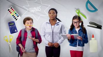 Mattress Firm Foster Kids TV Spot, 'School Supply Drive' Feat. Simone Biles - Thumbnail 9