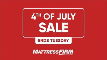 Mattress Firm 4th of July Sale TV Spot, 'Stretch Your Budget' - Thumbnail 1