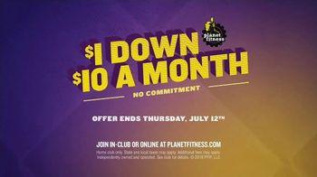 Planet Fitness No Commitment Sale TV Spot, 'Summer Time' - Thumbnail 7