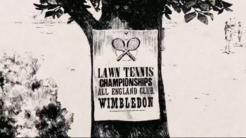 Wimbledon TV Spot, 'In Pursuit of Greatness: Take On History'