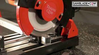 SawBlade.com Trajan Q700 TV Spot, 'Compact Cutting Machine' - Thumbnail 1