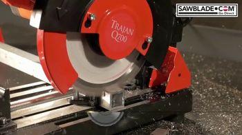 SawBlade.com Trajan Q700 TV Spot, 'Compact Cutting Machine' - Thumbnail 2