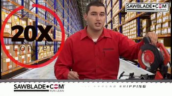 SawBlade.com Trajan Q700 TV Spot, 'Compact Cutting Machine' - Thumbnail 4