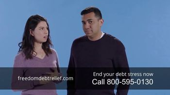Freedom Debt Relief TV Spot, 'Debt Free in Months'