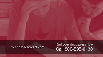 Freedom Debt Relief TV Spot, 'Debt Free in Months' - Thumbnail 1