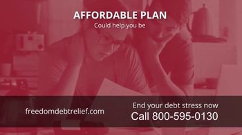 Freedom Debt Relief TV Spot, 'Debt Free in Months' - Thumbnail 2