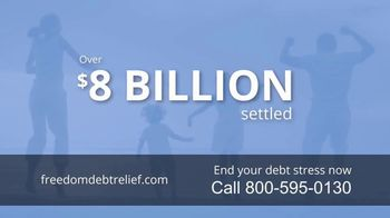 Freedom Debt Relief TV Spot, 'Debt Free in Months' - Thumbnail 4