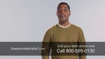 Freedom Debt Relief TV Spot, 'Debt Free in Months' - Thumbnail 9
