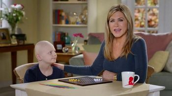 St. Jude Children's Research Hospital TV Spot, 'Help Kids Fight Cancer This Holiday' Featuring Jennifer Aniston - Thumbnail 1