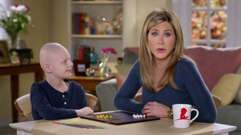 St. Jude Children's Research Hospital TV Spot, 'Help Kids Fight Cancer This Holiday' Featuring Jennifer Aniston - Thumbnail 9