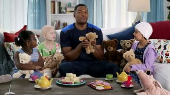 St. Jude Children\'s Research Hospital TV Spot, \'Teddy Tea Party\' Featuring Michael Strahan